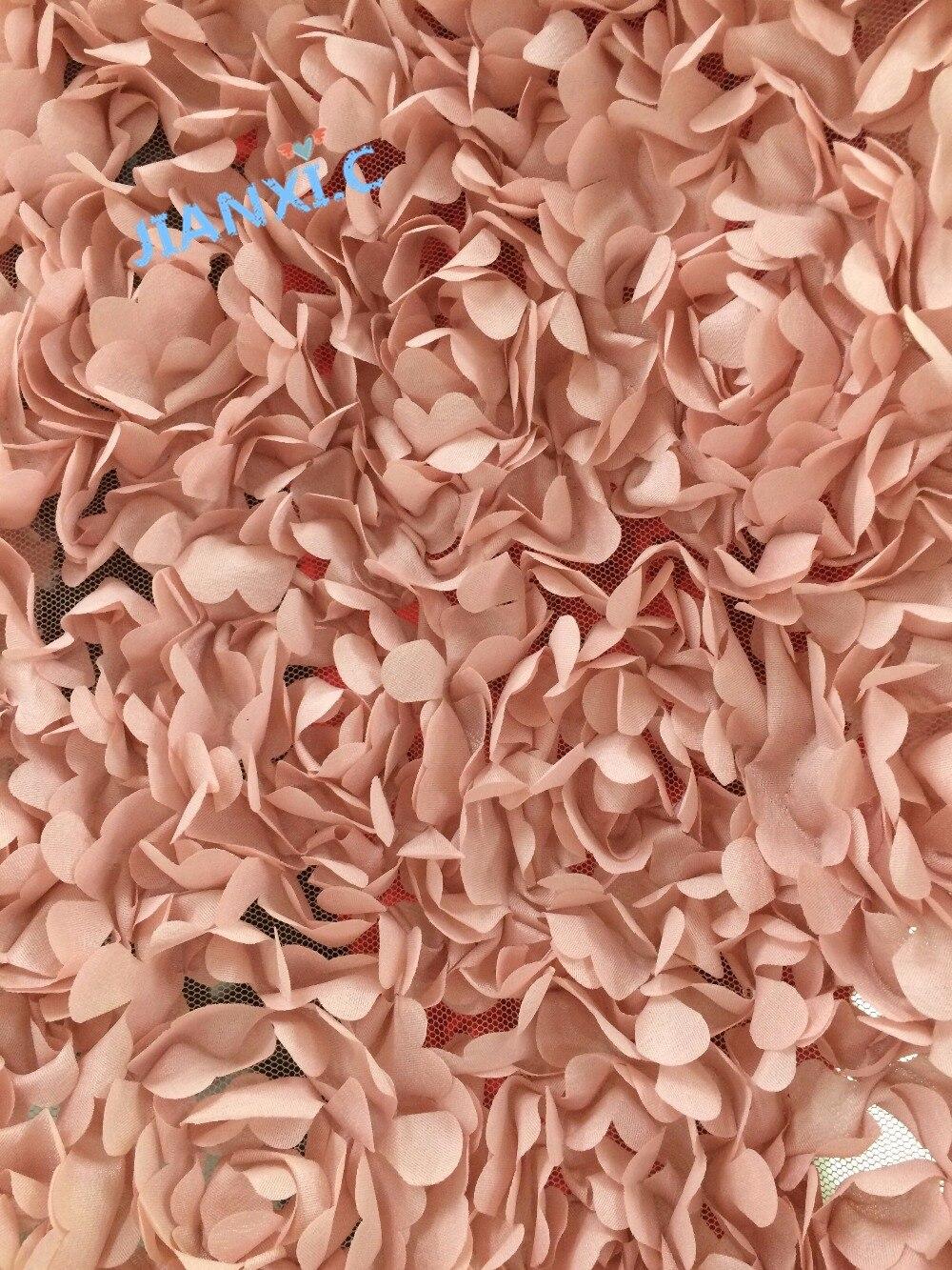 신부 드레스에 대 한 3d 꽃 수 놓은 코드 레이스 패브릭 JIANXI.C 120938 나이지리아 프랑스어 그물 레이스-에서레이스부터 홈 & 가든 의  그룹 1