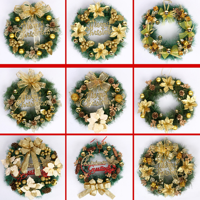 christmas wreath with bow handcrafted elegant holiday wreath for the front door - Elegant Christmas Wreaths