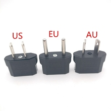 1PCS European US AU EU Plug Adapter American Japan China To Euro Travel Power Outlet Converter Socket