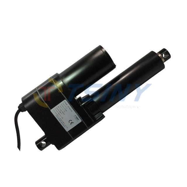 US $320 14 5% OFF DC 12V Heavy Duty Linear Actuator 4 inch Stroke 100mm  High Torque 8000N=800KG=1763 Ibs Speed 5mm/s Electric Tubular Motor-in DC