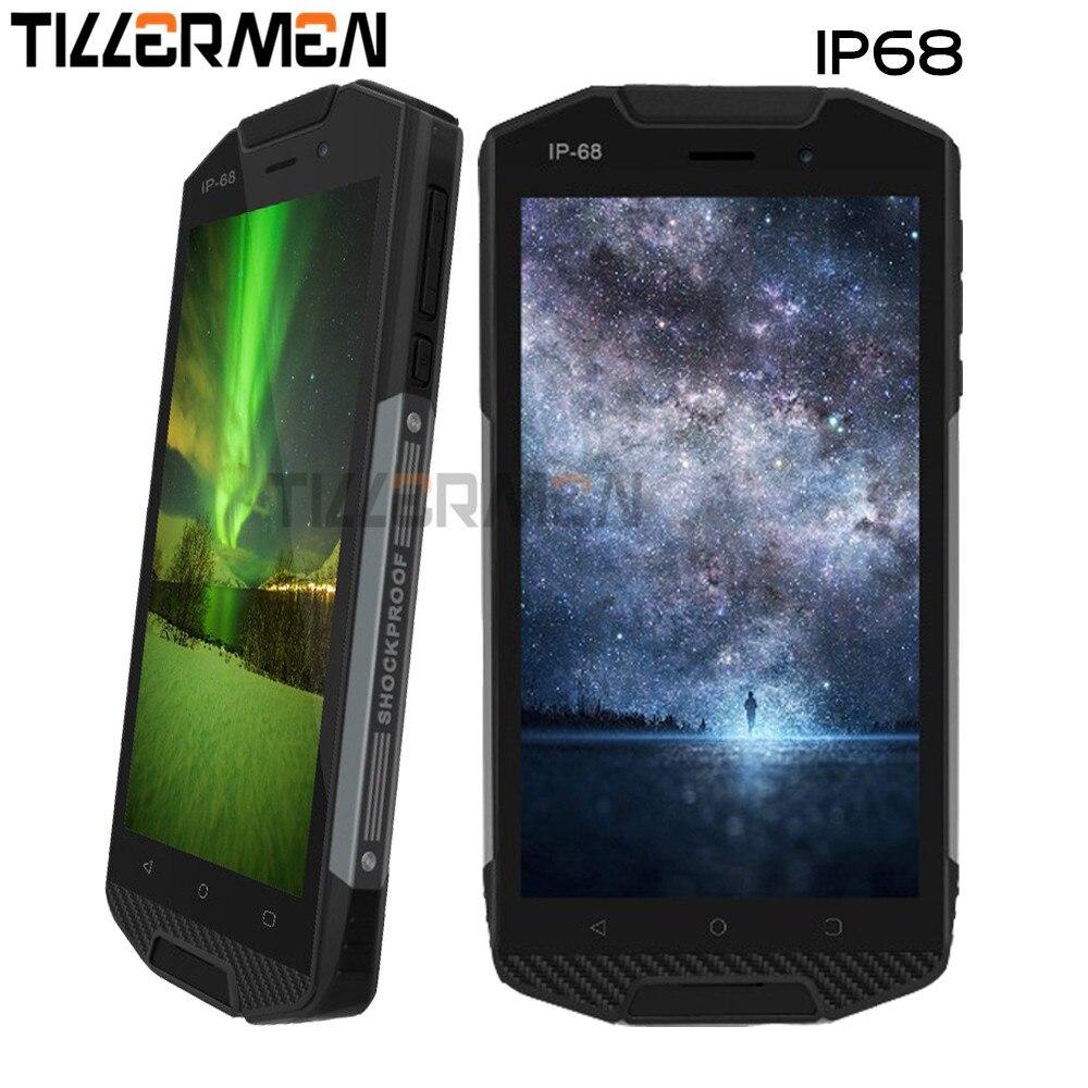 Цена за Оригинальный Водонепроницаемый Телефон Противоударный Ip68 Смартфон Ip67 5000 мАч Аккумулятор Android 6.0 Четырехъядерных Процессоров 4 г Lte 2 ГБ Rm Bv6000s Телефона M1