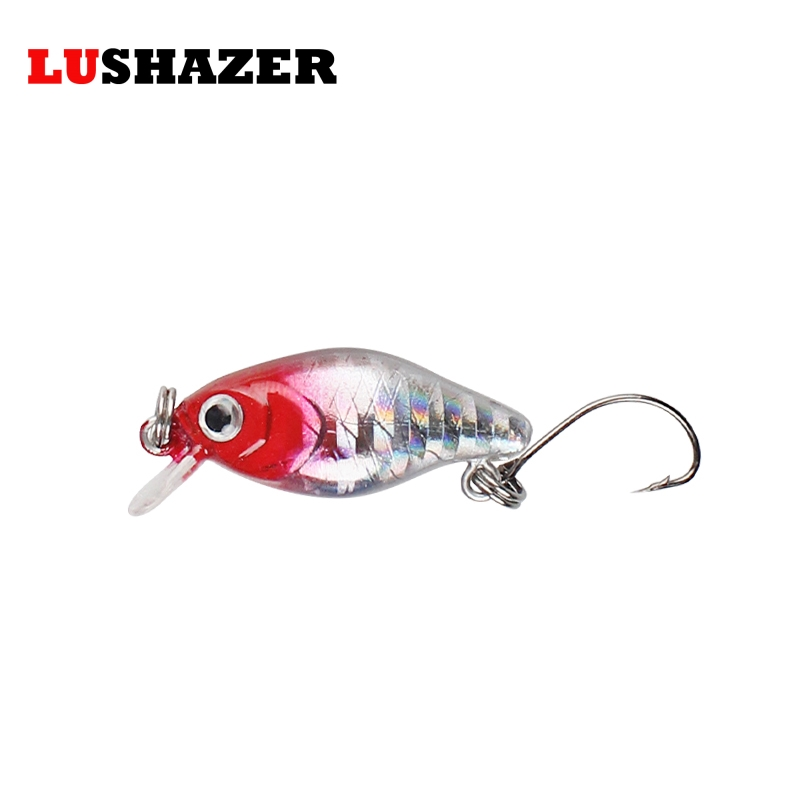 LUSHAZER minnow fishing lure 3.5cm 2g crank hard bait fishing wobblers iscas artificiais para pesca fishing tackles China lushazer fishing lure minnow bait 18g hard lures carp fishing iscas artificiais 2016 wobbler crankbait cheap sea fishing tackle