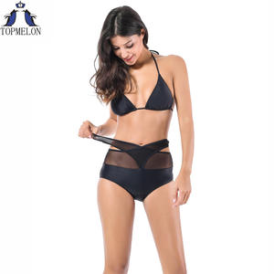 High waist swimsuit Female bikinis women brazilian bikini set sexy Bathing Suits Swimwear Bathing suit Girl Beachwear biquini
