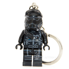 No.195 TIE Fighter Pilots star wars TFA The Force Awakens Keyring Minifigure Keychain Handmade Key Chain Building Block Toy