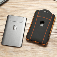new hot sale car key cover case keychain for Toyota crown 2012 2014 2016 2017 car key ring genuine leather