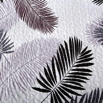מצעים פשוט עלים הדפסת כותנה פוליאסטר שמיכת כיסוי המיטה/מיטת כיסוי שמיכת שמיכת קיץ שמיכת 15 צבעים זמין # Sw
