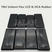 YMJ OCA & LCD Rubber Mat For Samsung S20 S10 S9 S8 Plus Note 20/10/9/8 LCD Glass OCA Laminating Repair Unbent Flex Cable