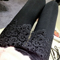 2017 nova mulher sexy black lace up leggings bunda aberta calças punk clubwear moda gothic ladies