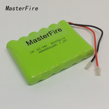 MasterFire 10PACK/LOT New 7.2V AAA 800mAh Ni-MH Battery Rechargeable NiMH Batteries Pack Free Shipping