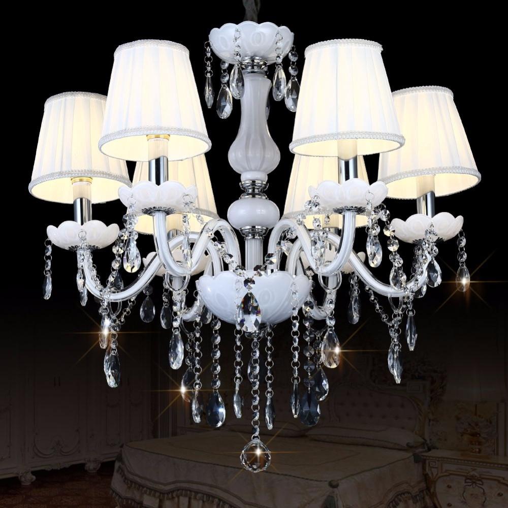 Lustre Modern Led Crystal Chandelier Lighting Ceiling Chandeliers Lampadario Light Candelabro Hanglamp Lamparas Luminaire Lampen