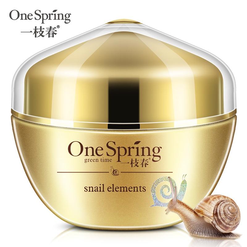 Snail whitening and nourishing Facial care cream Snail Cream Brighten skin firming without makeup whitening cream Day Cream 50g guess beachwear лиф треугольник
