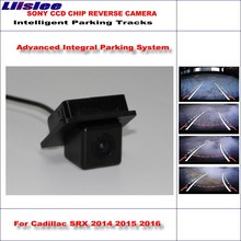 Liislee Dynamic Guidance Rear Camera For Cadillac SRX 2014 2015 2016 / 580 TV Lines HD 860 * 576 Pixels Parking Intelligentized