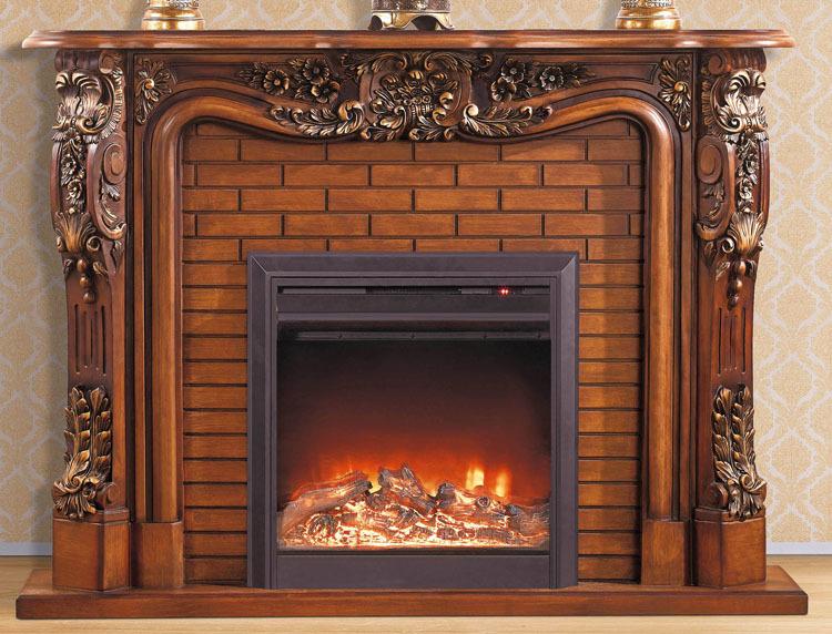repisa de madera con relleno de la chimenea elctrica chimenea conjunto wcm artificial led ptico de