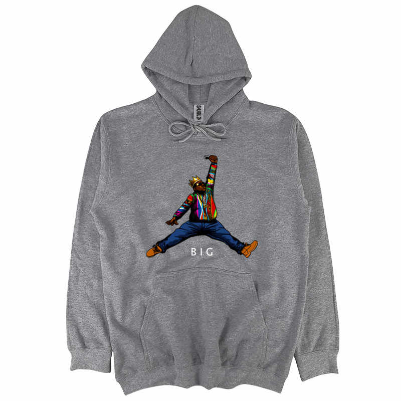 the notorious b.i.g jumpman biggie hoodies men America hiphop rock star hoodies  Biggie Smalls pullover 9b1147f82