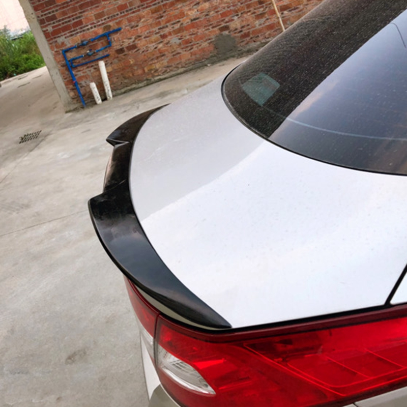 carbon fiber Unpainted Color Rear Trunk Boot Wing Rear Lip Spoiler For <font><b>Kia</b></font> K5 Optima 2011-2015 image