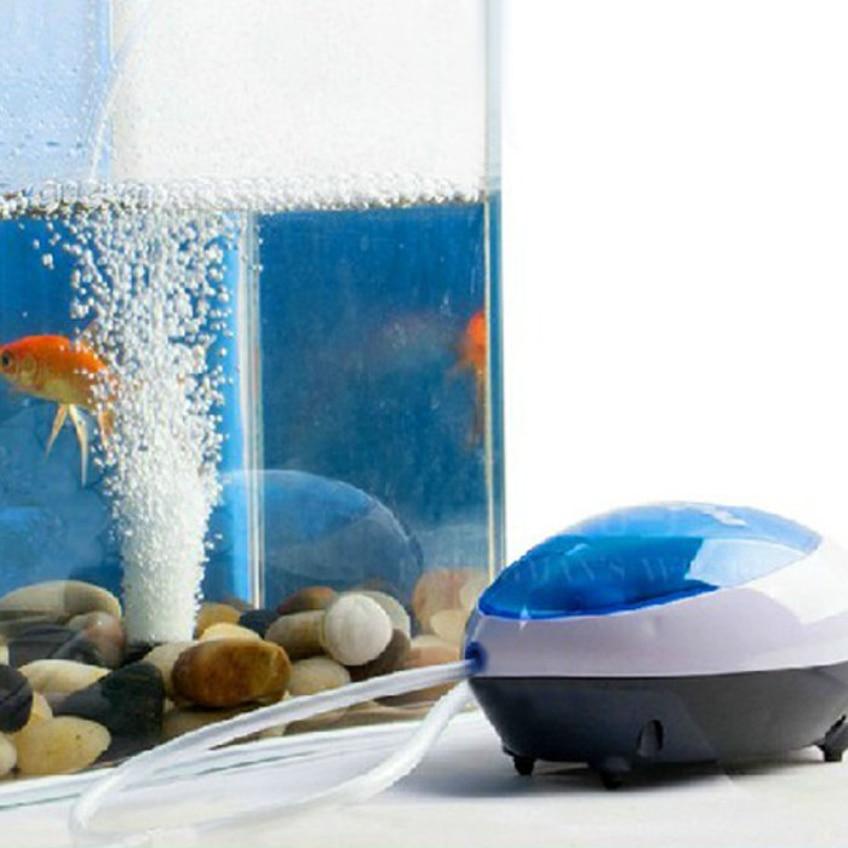 Happy Gifts High Quality New Ultra Silent High Out Energy Efficient Aquarium Air Pump Fish Tank Oxygen Air Pump US Plug