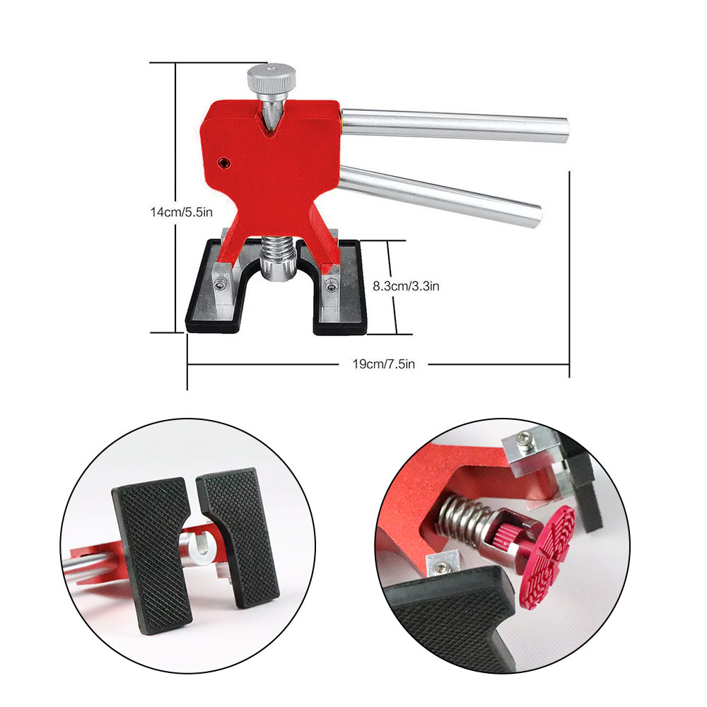 AUTO Paintless Dent Repair Puller Kits Glue Puller Dent Lifter With Different Size Tabs in Sheet Metal Tools Set from Automobiles Motorcycles