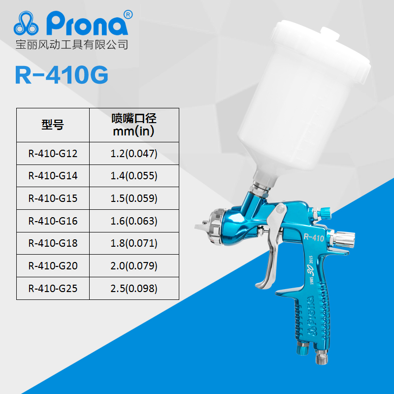 prona R-410 spray gun R410 paingting gun car repair tool-1