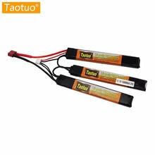 Taotuo Питания Литиевые Батареи Lipo 11.1 В 1500 МАЧ 25C 3 S Мини Airsoft Пушки Батареи Rc Модели Игрушки Части Bateria