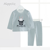 Kids Long Johns 95 Cotton Childrens Kids Thermal Underwear Baby Underwear 2018New Spring Chinese Boys Clothes