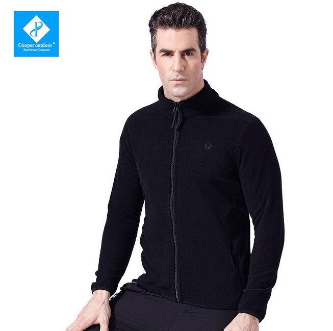 ФОТО Men Outdoor Sports Winter Fleece Warm Tactical Jacket Climbing Fitness Running Hiking Jacket Warm  Breathable Outerwear Coats