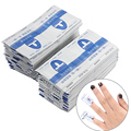 50pcs Gel Polish Remover Wraps Pads Manicure Tools Wet Wipes Paper Pads Foil Nail Art Cleaner for UV Gel Nail Tools