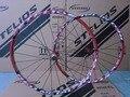 STELIOS C95 26 дюймов колеса для горного велосипеда колеса из алюминиевого сплава ступицы колеса и обода 24 Отверстия колеса Аксессуары для велоси...