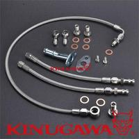 V Lvo 740 940 B230FT Turbo Oil Water Line Kit W M I TD04 Turbo 320