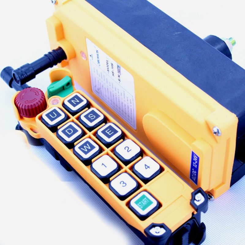 New Arrivals crane industrial remote control HS-10S wireless transmitter push button switch China crane hs 1934