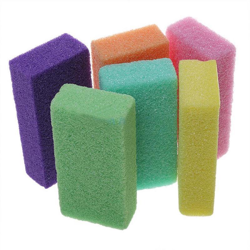 Pumice Stone Foot Care Scrub Dead Hard Skin Callus Remover Cleaner Random Color