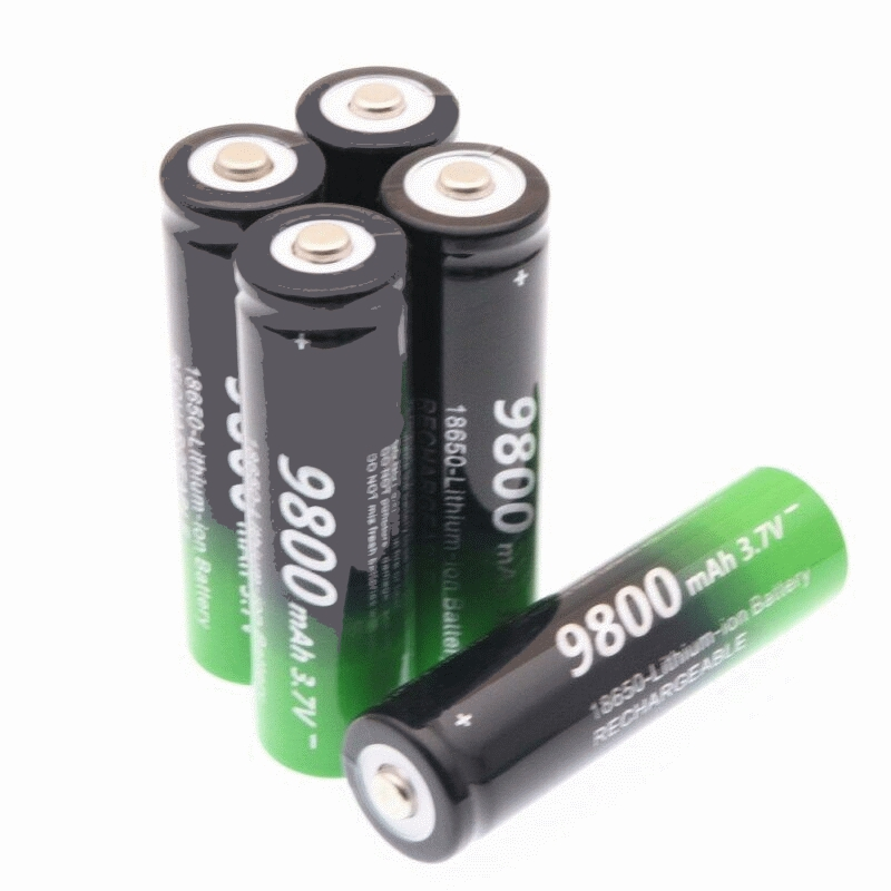 GTF 4PCS 18650 3.7 V 9800 MAh Lithium-ion Battery Rechargeable Lithium-ion Batteries For Flashlight Headlamp Electronic Toy