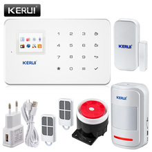 Original KERUI G18 Super Thin GSM Alarm Systems Android IOS APP Alarms Home Security System