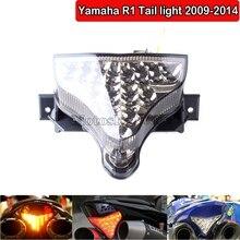 цена на Motorcycle Integrated LED Tail Light Brake Turn Signal Blinker Accessories Yamaha YZF R1 2009 2010 2011 2012 2013 2014 YZF-R1
