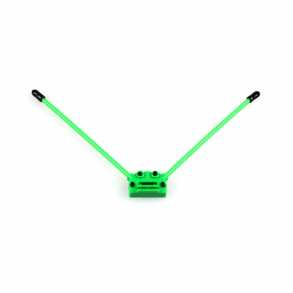 JMT CC3D Atom V tipo antena receptor Pedestal caja de fijación soporte de montaje de asiento para Alien a través de RC Multirotor FPV Quadcopter