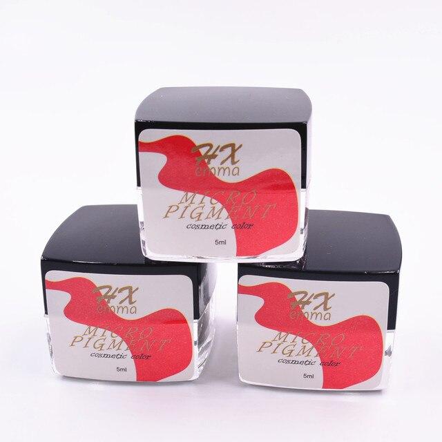 Pigmentos de cejas profesionales para microchorro de pintura de tatuaje de cejas para tatuajes maquillaje permanente y microblading
