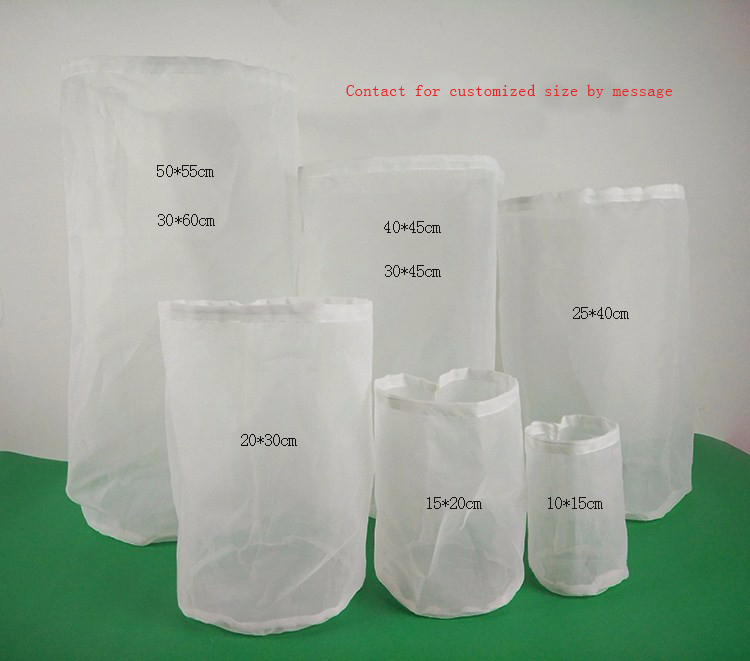 Home Beer Brew Filter Bags For Craft Wine Brew Filtering image