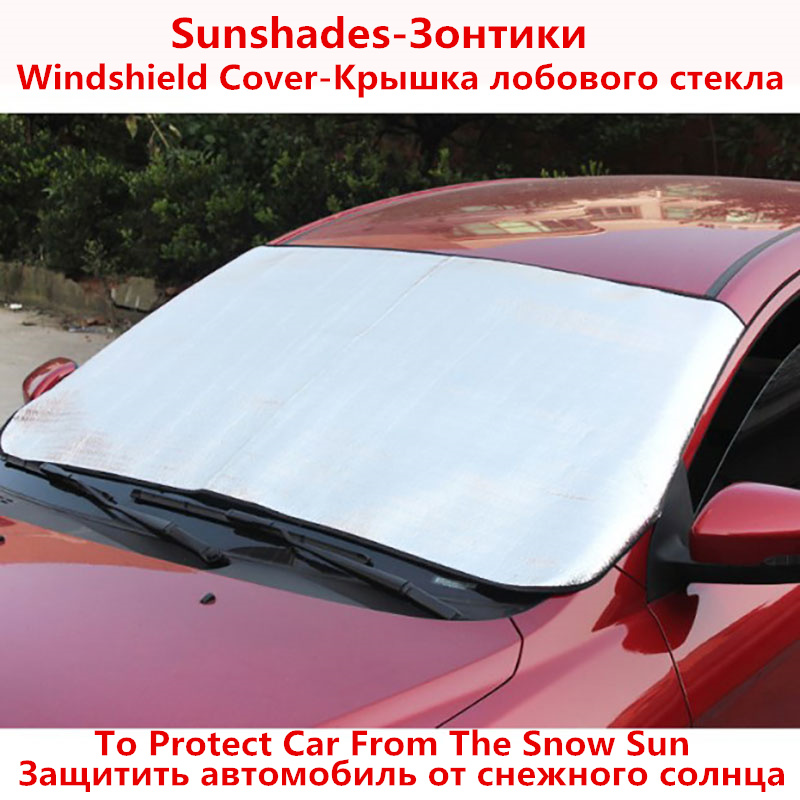 TENGRUI Sunshades Car Sun Shades for Windshield Sunshade Noise Insulation for Car Parasole Auto for jeep wrangler jk ...