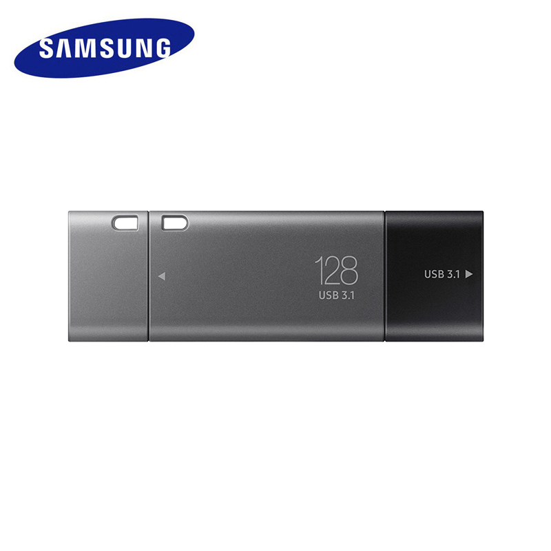 SAMSUNG USB Flash Drive 32G 64G Double Port Pen Drive USB3.1 Type C Type A Pendrive Memory Stick 128G 256G for Smartphone Tablet