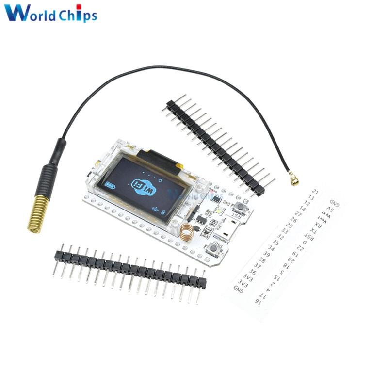 SX1278 LoRa ESP32 0 96 inch Blue OLED Display Bluetooth WIFI Lora Kit 32  Module Internet Development 433MHz 470MHz for Arduino
