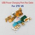 De carga usb cargador conector de puerto flex ribbon cable para zte blade V6/X7 Hoja/Hoja D6 Sustitución de piezas de repuesto al por mayor