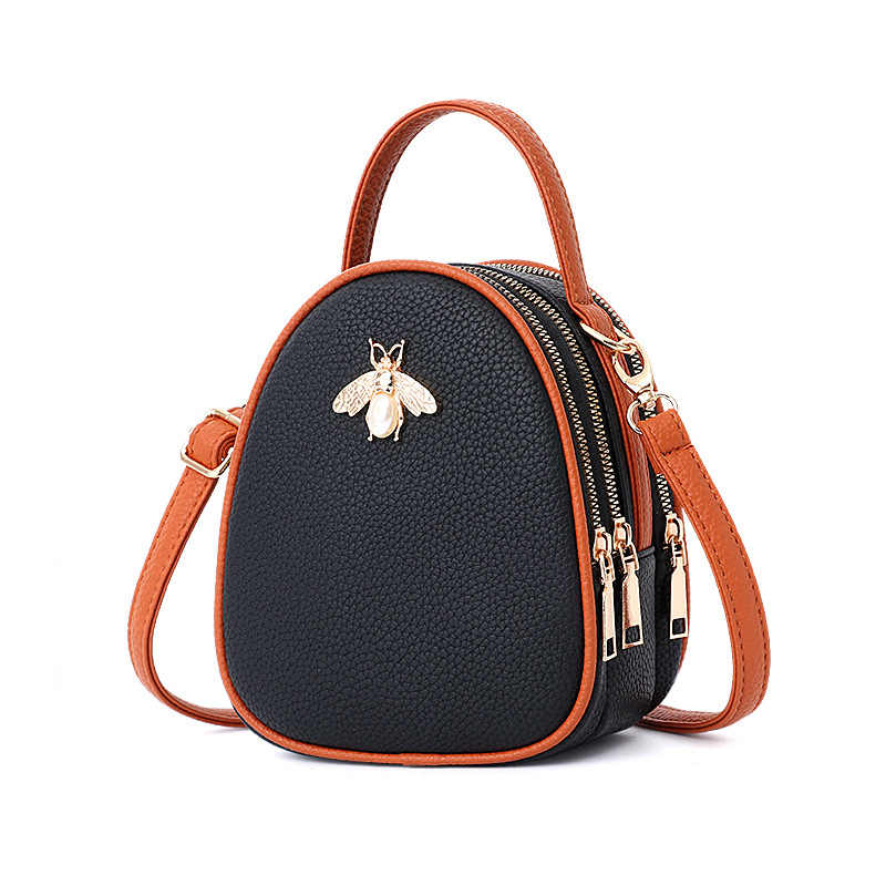 02d76617d68e ... Luxury Handbags Women Bags Designer Ladies  Pu Leather Shoulder Bag for Women  2018 Fashion Bee ...
