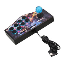 Wired Arcade Joystick Gamepads Fighting Game Controller Joystick For PC For PS2 PS3 Street Arcade Joystick PC