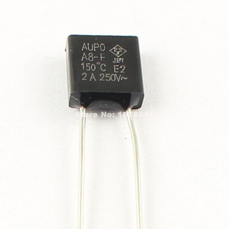 2Pcs Aupo Thermal Fuse Tf Cutoff 184℃ 250V 10A BF184 US Stock i