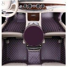 Lsrtw2017 di lusso in fibra di auto interni in pelle tappetino per mercedes benz s-class w140 w220 w221 w222 s500 s600 s320 s350 s400