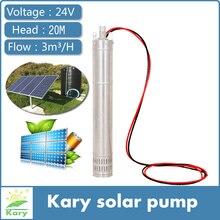 Горячая! 24 вольт постоянного тока бесщеточный погружной солнечный насос с внутренним контроллером