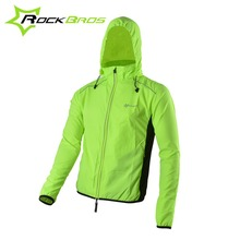 ROCKBROS Reflective Breathable Bike Bicycle font b Cycling b font Cycle Long Sleeve Wind Coat Windcoat