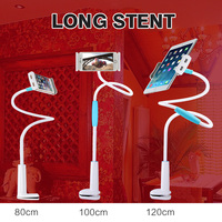 360 Degree Flexible Arm Mobile Phone Holder Stand Long Lazy People Bed Desktop Tablet For IPhone