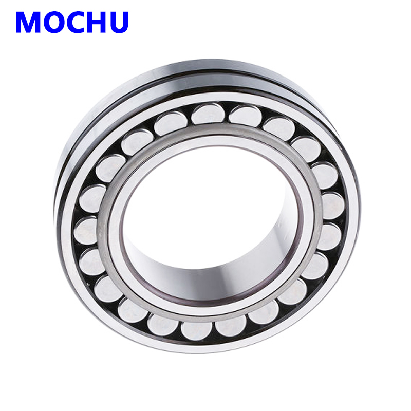 1pcs MOCHU 22219 22219E 22219 E 95x170x43 Double Row Spherical Roller Bearings Self-aligning Cylindrical Bore 1pcs 29256 280x380x60 9039256 mochu spherical roller thrust bearings axial spherical roller bearings straight bore