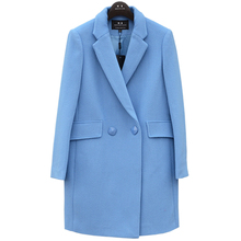Winter wool overcoat feminine medium-long thickening woolen outerwear go well with free delivery