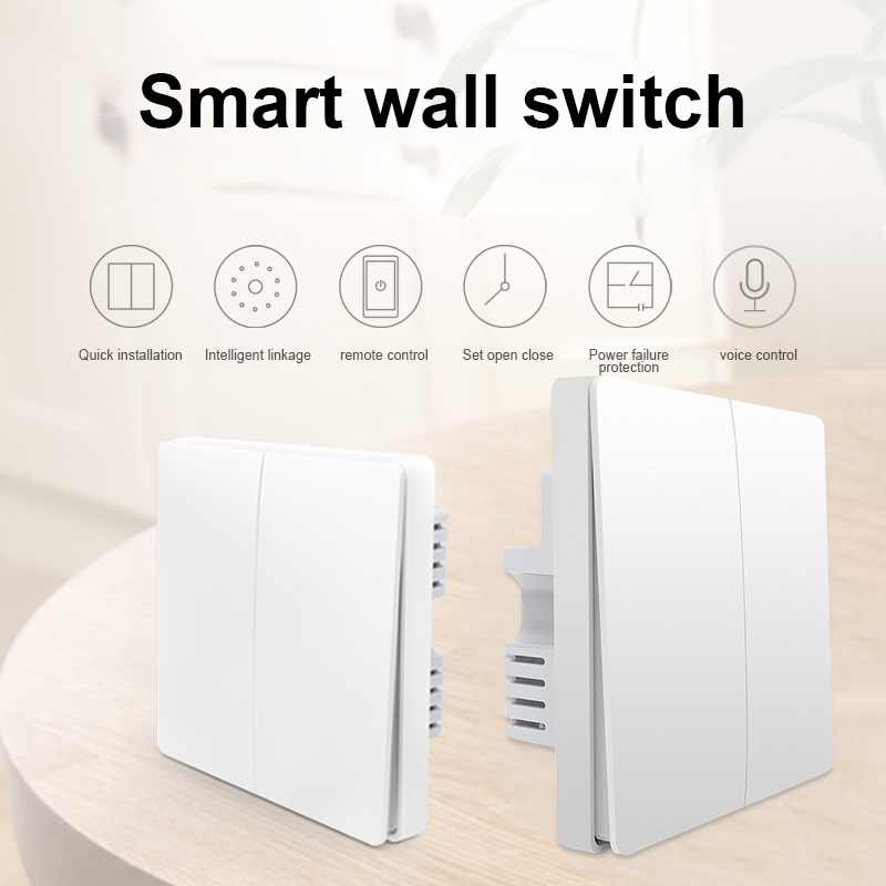 Smart Light Switch Wall Switch Light Control Anywhere No Hub Required for ZigBee Device MDJ998Smart Light Switch Wall Switch Light Control Anywhere No Hub Required for ZigBee Device MDJ998